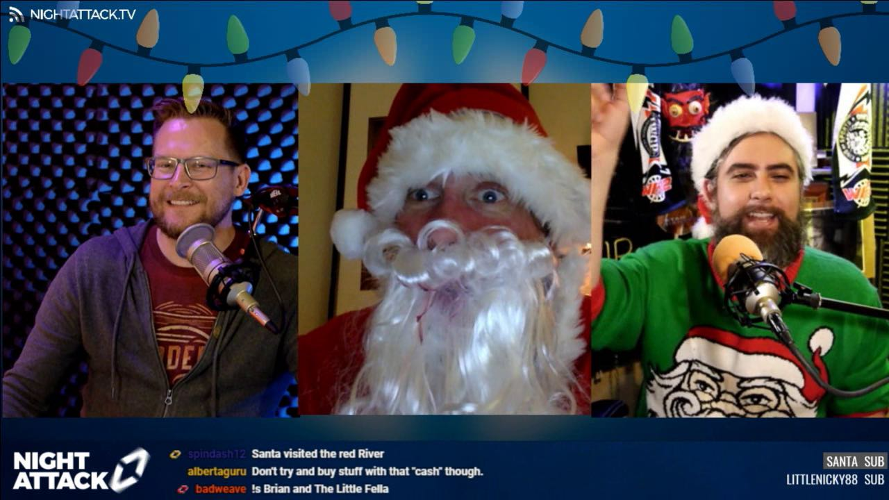 Episode #252: Santa-Client Privilege (w/ Snowers and Santa)