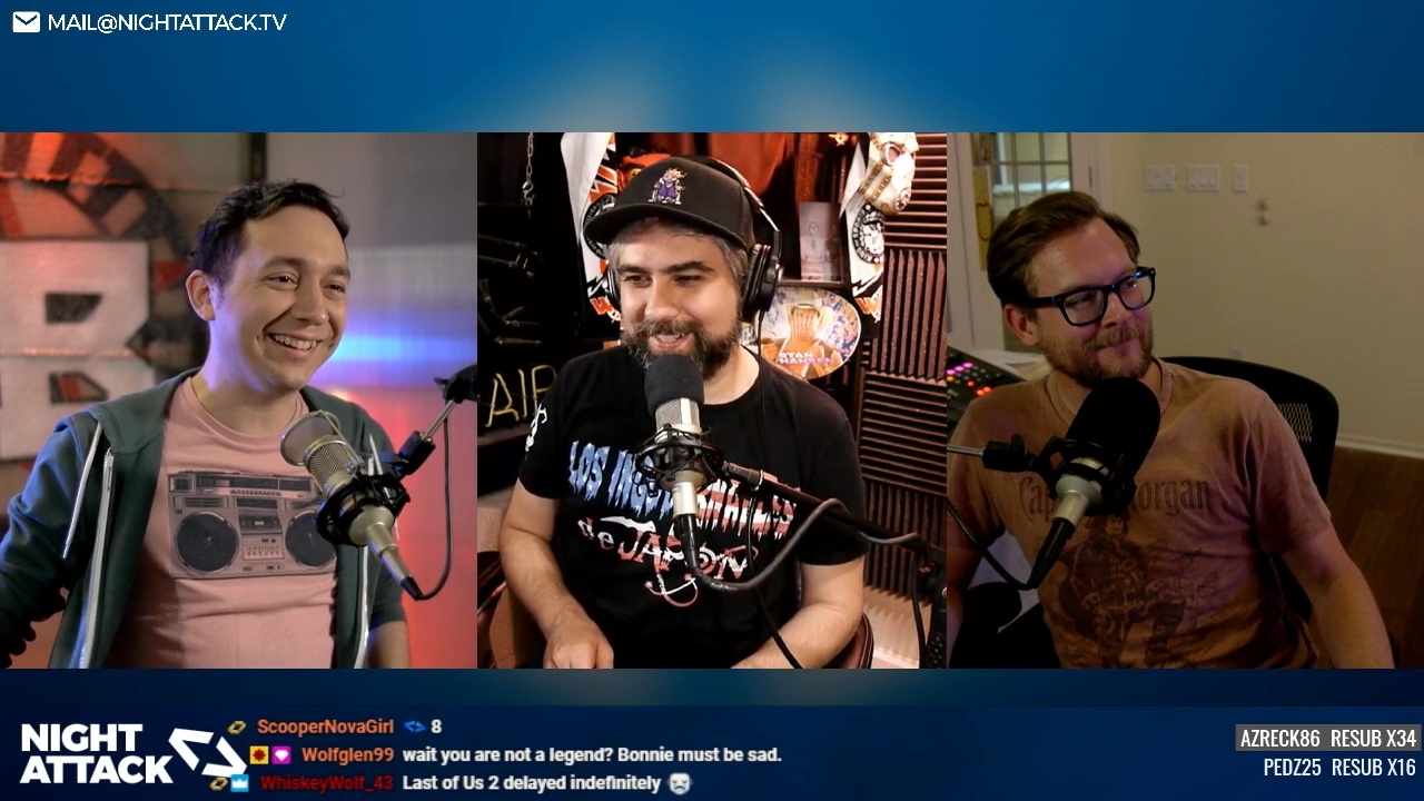 Night Attack Happy Hour (4/02/2020)