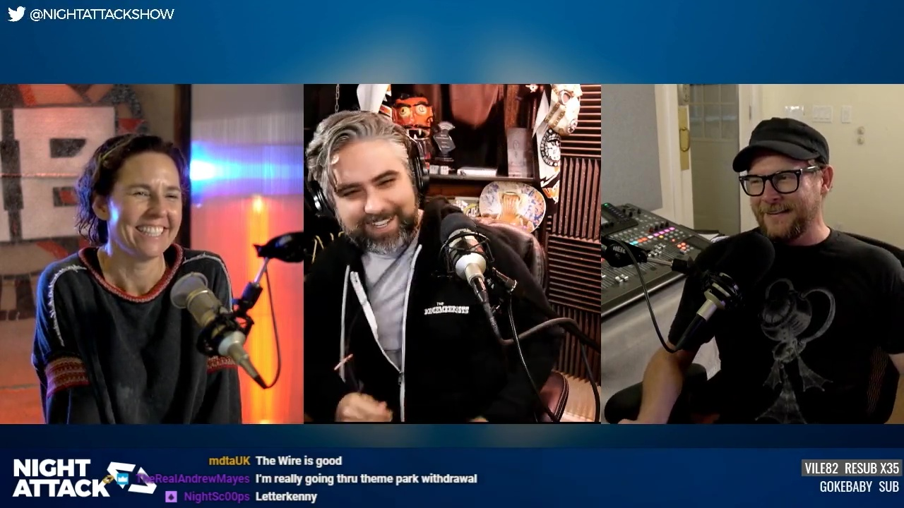 Night Attack Happy Hour (4/03/2020)