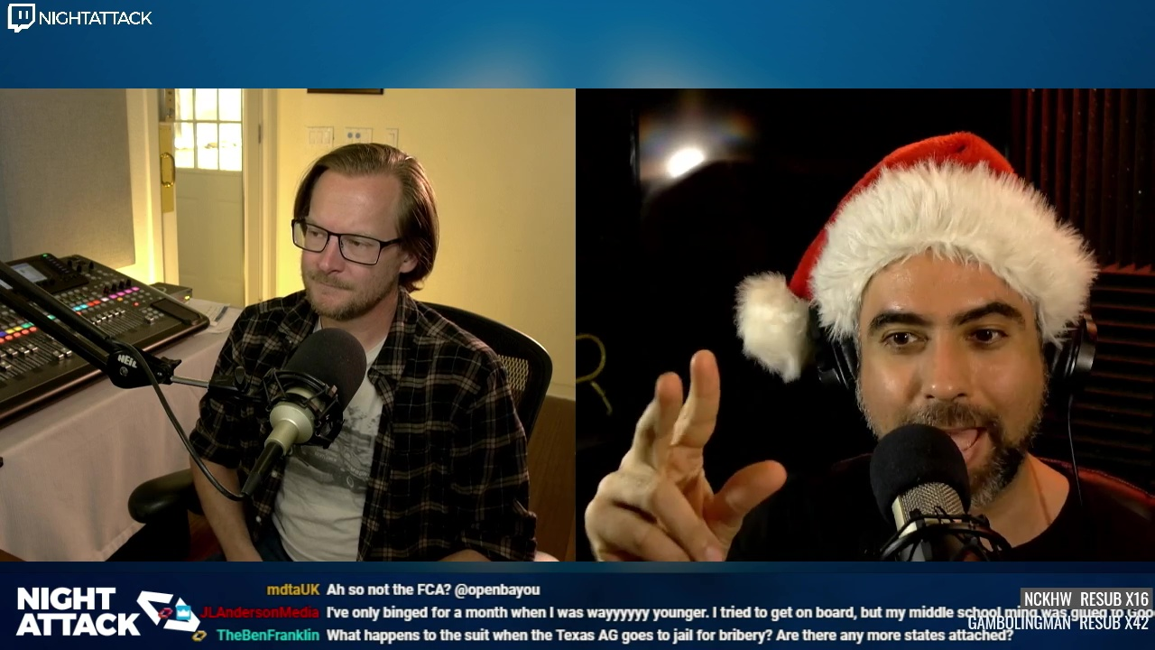 Night Attack Happy Hour (12/17/2020)
